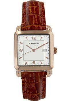 Romanson Часы Romanson TL1579DMR(WH). Коллекция Adel