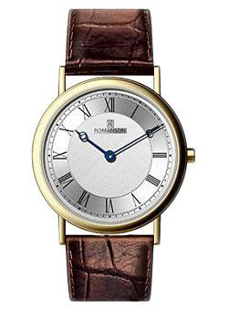 Romanson Часы Romanson TL5110SMC(WH). Коллекция Adel romanson часы romanson tl0392mw wh коллекция gents fashion