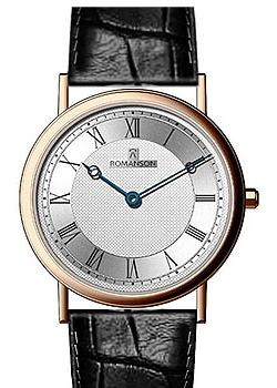 Romanson Часы Romanson TL5110SMR(WH). Коллекция Leather romanson rm 9239 lj wh