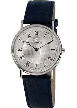 Romanson Часы Romanson TL5110SMW(WH). Коллекция Leather jacques lemans london 1 1654f
