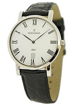 Romanson Часы Romanson TL5507SMC(WH). Коллекция Adel romanson rl1254lj wh romanson