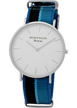 Romanson Часы Romanson TL6A30MMW(WH)GR. Коллекция Adel romanson часы romanson tl0110slw bk коллекция adel
