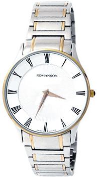 Romanson Часы Romanson TM0389MC(WH). Коллекция Gents Fashion