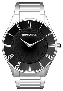 Romanson Часы Romanson TM0389MW(BK). Коллекция Gents Fashion romanson часы romanson al1216hmb bk коллекция gents function
