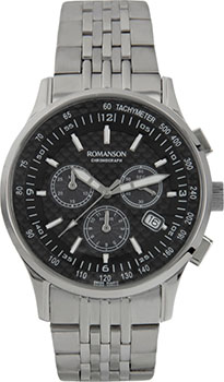 Romanson Часы Romanson TM4131PMW(BK). Коллекция Gents Function romanson часы romanson al1216hmb bk коллекция gents function