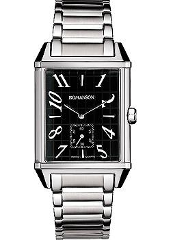 Romanson Часы Romanson TM7237MW(BK). Коллекция Gents Fashion romanson часы romanson dl9198smw bk коллекция gents fashion