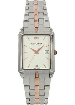 Romanson Часы Romanson TM8154CMJ(WH). Коллекция Adel romanson часы romanson tl0110slw bk коллекция adel