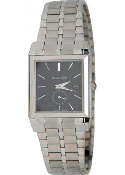 Romanson Часы Romanson TM8253LW(BK). Коллекция Silver цены онлайн