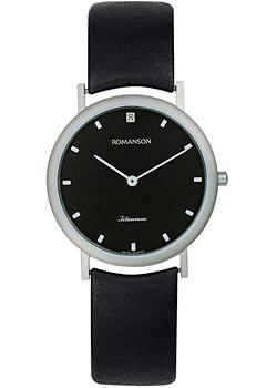 Romanson Часы Romanson UL0576SLW(BK). Коллекция Titanium romanson tm 2615 mr bk