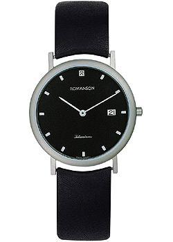 Romanson Часы Romanson UL0576SMW(BK). Коллекция Titanium