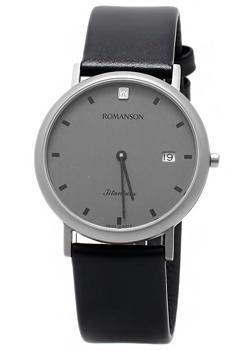 Romanson Часы Romanson UL0576SMW(GR). Коллекция Titanium romanson часы romanson dl9782smw bk коллекция titanium
