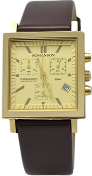 мужские часы Romanson UL2118SMG(GD). Коллекция Gents Function от Bestwatch.ru
