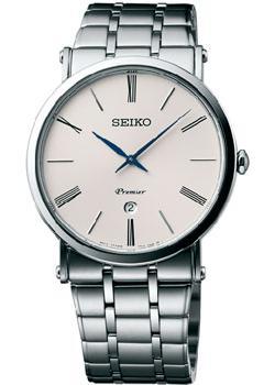 цена Seiko Часы Seiko SKP391P1. Коллекция Premier онлайн в 2017 году