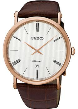 все цены на Seiko Часы Seiko SKP398P1. Коллекция Premier в интернете