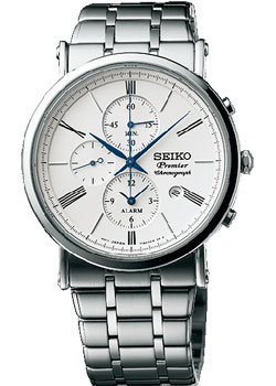 Seiko Часы Seiko SNAF73P1. Коллекция Premier seiko premier snp126p1