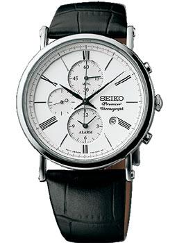 Seiko Часы Seiko SNAF77P1. Коллекция Premier цена