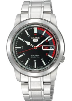 Seiko Часы Seiko SNKK31K1. Коллекция Seiko 5 Regular seiko watch no 5 automatic fashion simple mechanical watch snk379k1 snk807k2 snk809k1 snk809k2 snk385k1 snk803k2 snk805k2