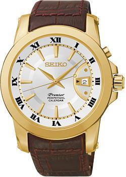 Seiko Часы Seiko SNQ144J1. Коллекция Premier seiko premier srkz66p1