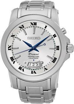Seiko Часы Seiko SNQ145P1. Коллекция Premier seiko часы seiko snq147p1 коллекция premier