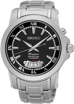 Seiko Часы Seiko SNQ147P1. Коллекция Premier seiko часы seiko snq147p1 коллекция premier