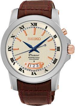 Seiko Часы Seiko SNQ150P1. Коллекция Premier