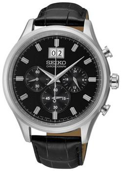 цена Seiko Часы Seiko SPC083P2. Коллекция Conceptual Series Dress онлайн в 2017 году