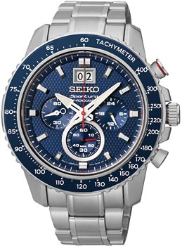 Seiko Часы Seiko SPC135P1. Коллекция Sportura цена