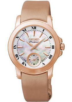 Seiko Часы Seiko SRKZ62P1. Коллекция Premier seiko premier sndv66p1