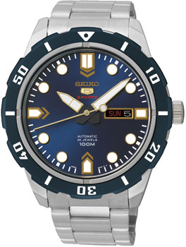 Seiko Часы Seiko SRP677K1. Коллекция Seiko 5 Sports цена и фото