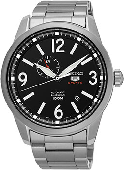 Seiko Часы Seiko SSA293K1. Коллекция Seiko 5 Sports seiko watch no 5 automatic fashion simple mechanical watch snk379k1 snk807k2 snk809k1 snk809k2 snk385k1 snk803k2 snk805k2