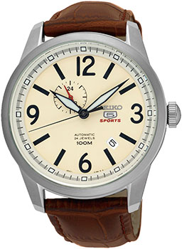 Seiko Часы Seiko SSA295K1. Коллекция Seiko 5 Sports seiko watch no 5 automatic fashion simple mechanical watch snk379k1 snk807k2 snk809k1 snk809k2 snk385k1 snk803k2 snk805k2