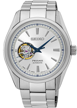 Seiko Часы Seiko SSA355J1. Коллекция Presage портмоне lancaster 128 35 marron fo