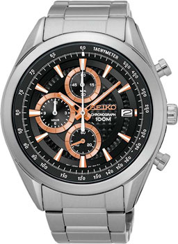 Seiko Часы Seiko SSB199P1. Коллекция Conceptual Series Sports appella часы appella 4382 43 1 0 04 коллекция ceramic