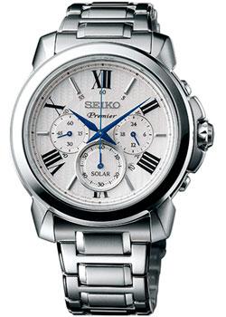 Seiko Часы Seiko SSC595P1. Коллекция Premier seiko часы seiko sxb430p1 коллекция premier