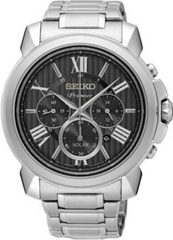 Seiko Часы Seiko SSC597P1. Коллекция Premier seiko часы seiko sxb430p1 коллекция premier