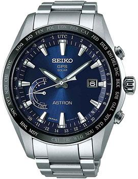 Seiko Часы Seiko SSE109J1. Коллекция Astron бордовая футболка с принтом