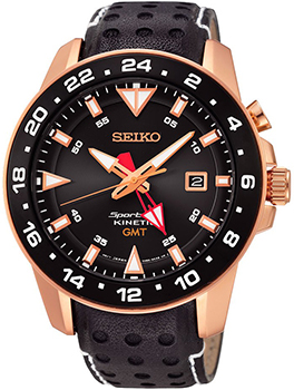 Seiko Часы Seiko SUN028P1. Коллекция Sportura seiko часы seiko spc135p1 коллекция sportura