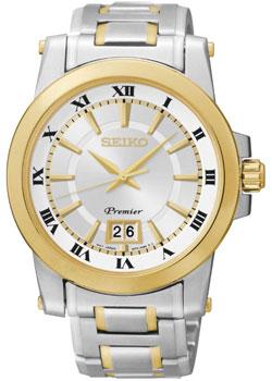 Seiko Часы Seiko SUR016P1. Коллекция Premier seiko часы seiko sxb430p1 коллекция premier