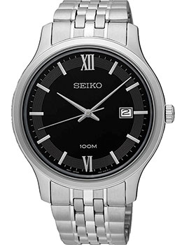 Seiko Часы Seiko SUR221P1. Коллекция Promo fossil часы fossil fs5274 коллекция commuter