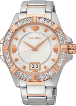 Seiko Часы Seiko SUR804P1. Коллекция SEIKO LORD incity юбка incity 11110700170 171463 оранжевый