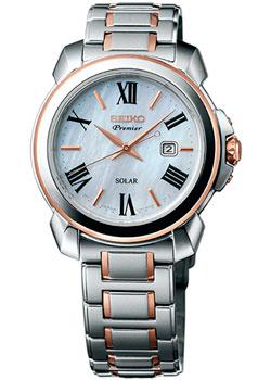 Seiko Часы Seiko SUT322P1. Коллекция Premier seiko часы seiko srk040p1 коллекция premier