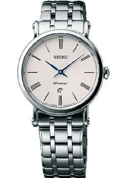 Seiko Часы Seiko SXB429P1. Коллекция Premier seiko часы seiko snq147p1 коллекция premier