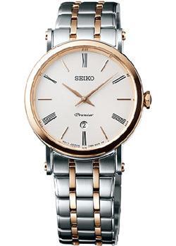 Seiko Часы Seiko SXB430P1. Коллекция Premier seiko часы seiko snq147p1 коллекция premier
