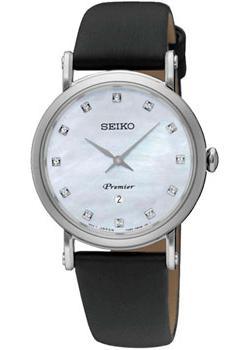 Seiko Часы Seiko SXB433P2. Коллекция Premier seiko часы seiko snq150p1 коллекция premier