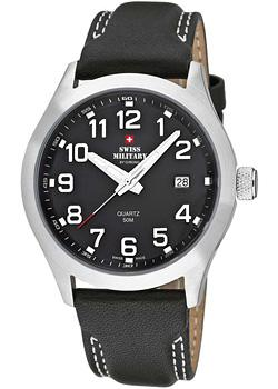 Swiss military Часы Swiss military SM34024.07. Коллекция Кварцевые часы curren corium military watches