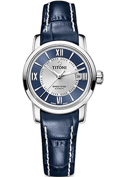Titoni Часы Titoni 23538-S-ST-580. Коллекция Space Star titoni часы titoni 83838 sy 535 коллекция space star