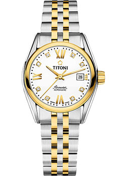 Titoni Часы Titoni 23909-SY-063. Коллекция Airmaster titoni часы titoni 83838 sy 535 коллекция space star