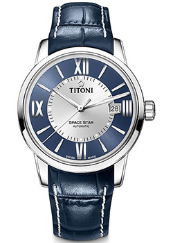 Titoni Часы Titoni 83538-S-ST-580. Коллекция Space Star titoni часы titoni 83838 sy 535 коллекция space star