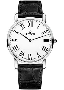 Titoni Часы Titoni TQ-52918-S-ST-584. Коллекция Slenderline цена