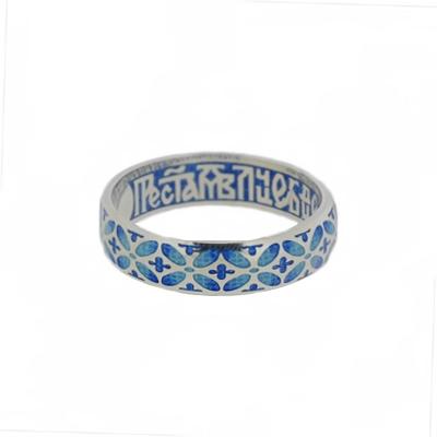 Серебряное кольцо Ювелирное изделие BL_03.019A_19.0 сборник святый княже александре моли бога о нас